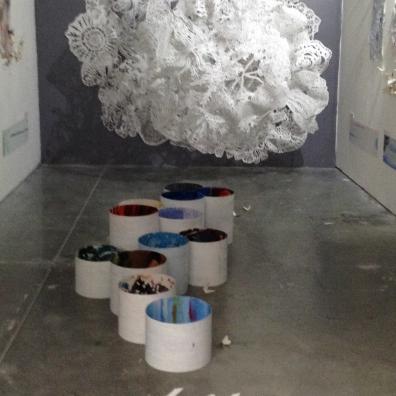 White - installation