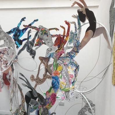 Heavenly Bodies installation - year 9