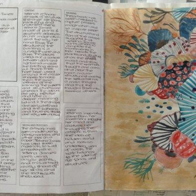 year 8 artist study